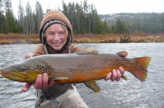 Another great brown trout landed in Montana