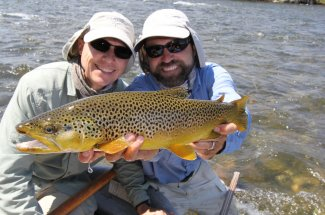 Our guides give you the best opportunity to catch a trophy.