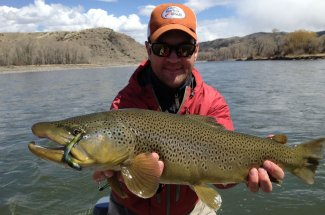 Montana streamer fishing