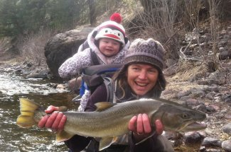 Montana bull trout fishing