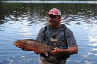 Montana cutthroat can tip the scales