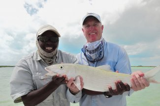 Another memory made on the flats of the Bahamas