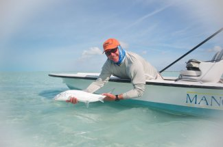 Bahamas is the best bonefishing in the Caribbean