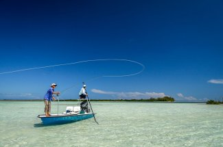 That's the cast that will catch a bonefish