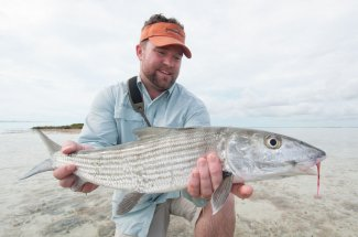 Fly fishing in the Bahamas for bonefish
