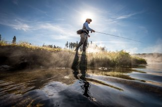 Fly Fishing YNP