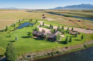 Lodge on the Madison River