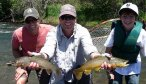 double fish on no-tellum-creek