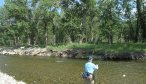 fly fishing sweet grass creek for trout