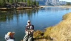 guided montana river fishing