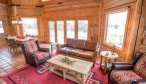 Montana cabin living room