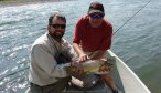 float fishing for Montana brown trout