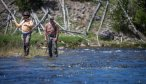 Guided fishing in Yellowstone National Park