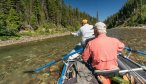 Floating South Fork of the Flathead River