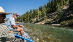 Floating in Bob Marshall Wilderness
