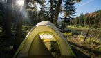Camp South Fork of the Flathead