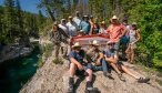 camping in Bob Marshall Wilderness
