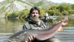 Fly fishing in Mongolia
