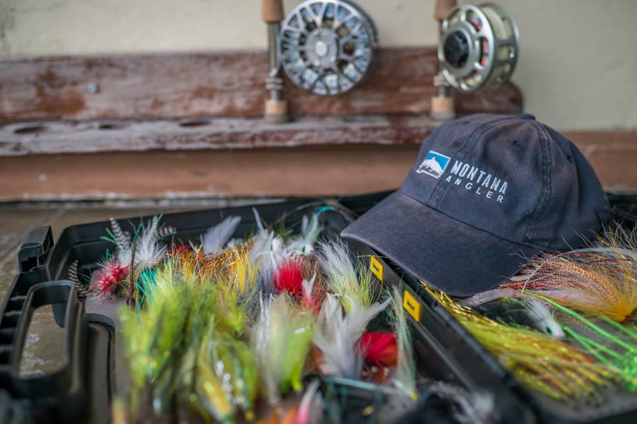 8 weight rods and large streamers and poppers are the recipe for great fishing at Agua Boa Lodge
