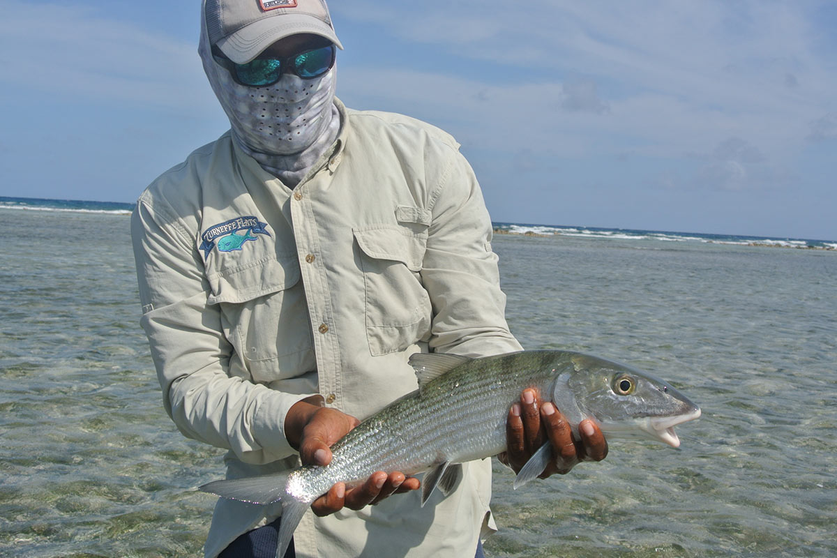 Bonefish caught in Belize
