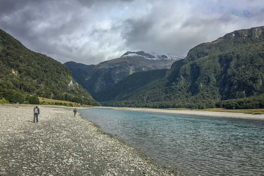 Fly fishing New Zealand back country