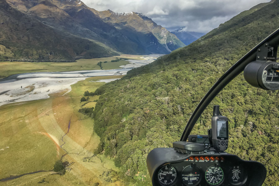 Back country New Zealand fly fishing