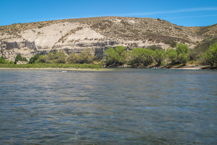 The Collon Cura is a dead ringer for the Yellowstone River in Montana and offers big water and big fish