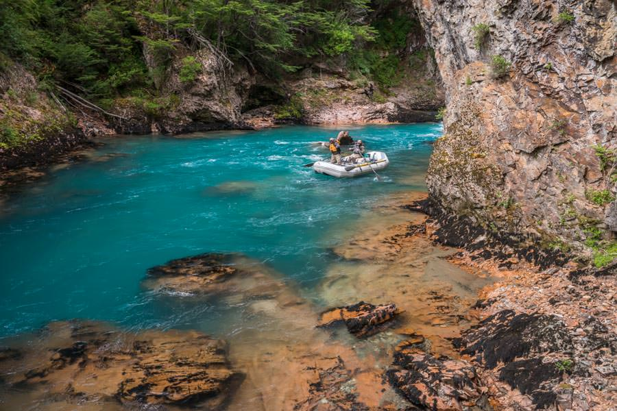 The aquamarine waters of the Paloma River make this one of the scenic rivers on earth