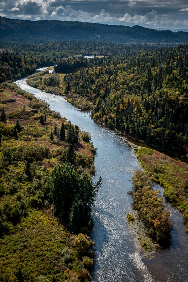The Copper River is the quintessential Alaskan rainbow trout river. It is just big enough to navigate with raft or jet boat, yet small enough to easily wade. It also holds an incredible population of large, hard fighting rainbow trout.