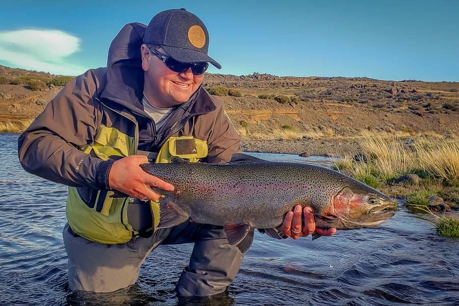 """...I remembered a conversation I had with Brian when prepping me for the trip. He predicted that the first fish I landed was going to be the biggest trout of my life. He wasn't wrong."""