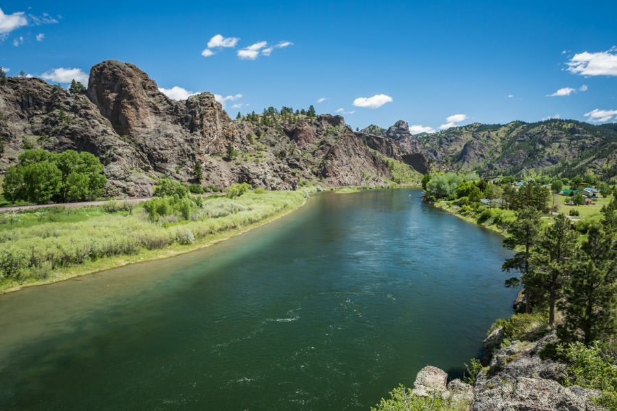 The Missouri River tailwater near Craig produces consistent fishing during the month of May
