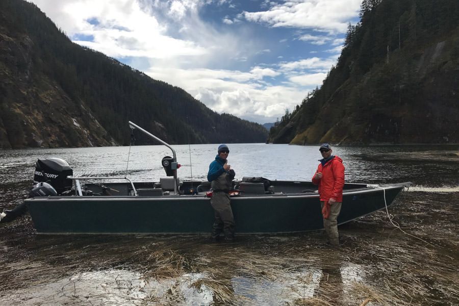 Experienced Alaska captains and guides