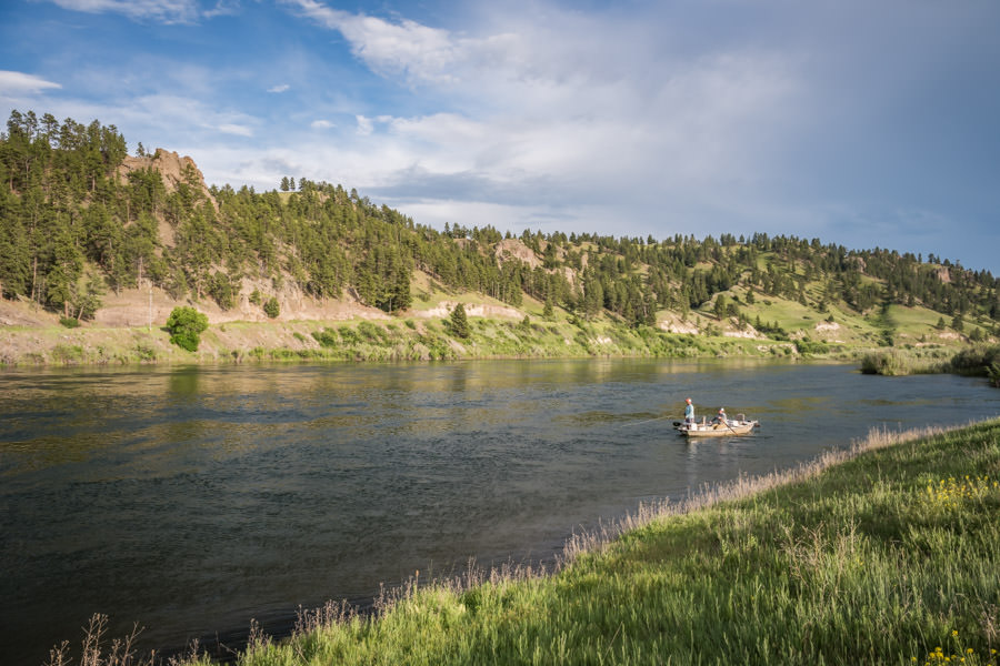 The Missouri River is one of Montana's most ideal rivers for soft hackle fishing