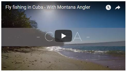 Fly fishing in Cuba Video