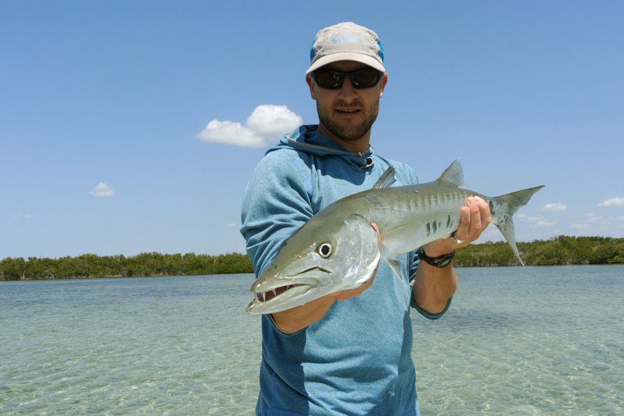 Barracuda caught in Cuba