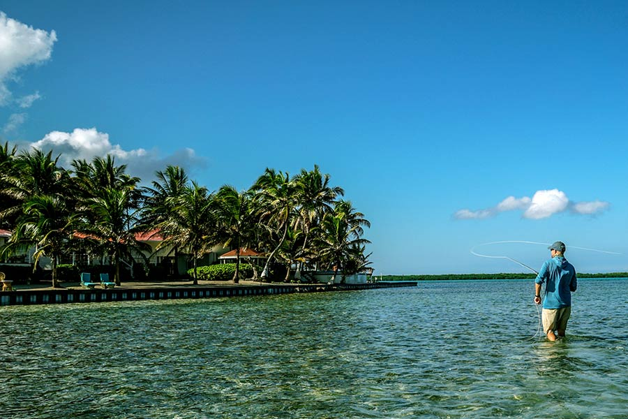 Fly Fishing for Permit on Turneffe Atoll